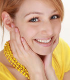 Cute blond girl Royalty Free Stock Image