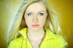 Cute Blond One royalty free stock photos