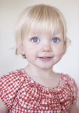 Cute blonde girl Royalty Free Stock Image