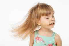 Cute blonde girl Royalty Free Stock Photo