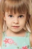 Cute blonde girl Stock Photos