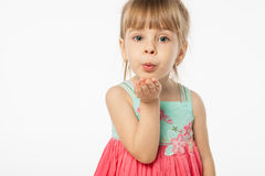 Cute blonde girl Royalty Free Stock Photography
