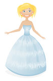 Cute blonde princess Stock Photo