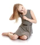 Cute blonde teen girl Royalty Free Stock Photography