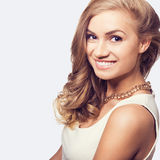 Cute blonde woman Stock Photography