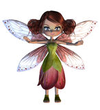 Cute Blossom Fairy Stock Image