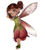 Cute Blossom Fairy Royalty Free Stock Photos