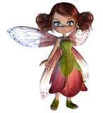 Cute Blossom Fairy Stock Photos