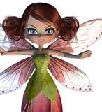 Cute Blossom Fairy Royalty Free Stock Images