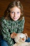 Cute blue eyed girl Stock Photo