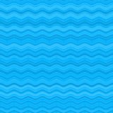 Cute blue patterns with colored waves randomly. Stock Image