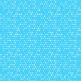 Cute blue and white dotted vector seamless pattern Stock Images