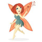 Cute bob fairy Stock Image