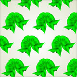 Cute bows seamless pattern Royalty Free Stock Photography