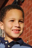 Cute Boy. Here is a picture of a young attractive multiracial boy Royalty Free Stock Photos