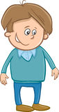 Cute boy character cartoon Royalty Free Stock Photography