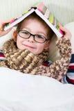 Cute boy in glasses Stock Photo