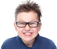 Cute boy with great smile Royalty Free Stock Photo