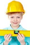 Little architect Stock Photos