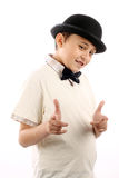 Cute boy with hat Stock Photo