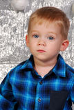 Cute boy kid christmas Stock Photography
