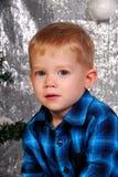 Cute boy kid christmas Royalty Free Stock Photos