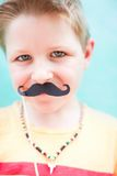 Cute boy at party Stock Images