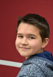 Cute boy. Portrait  of a  boy with charmingly smile Royalty Free Stock Photo