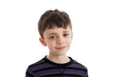 Cute boy portrait Royalty Free Stock Photography