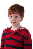 Cute Boy, with sad look Stock Photo