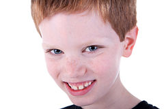 Cute Boy, smiling Stock Images