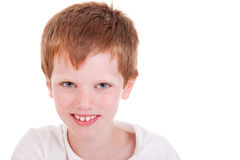 Cute Boy smiling Royalty Free Stock Images