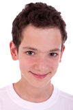 Cute boy smiling Stock Photos