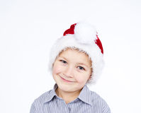 Cute boy smiling Stock Photos