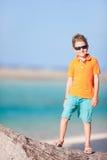 Cute boy on vacation Stock Photos
