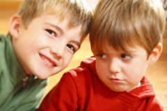 Cute boys Stock Images
