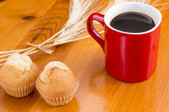 Cute breakfast Stock Images
