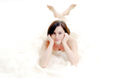 Cute bride Stock Photo