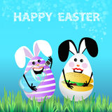 Cute bright easter illustration for your design Stock Photo