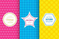 Cute Bright Seamless Pattern Background Stock Photography