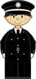 Cute British Policeman Royalty Free Stock Image