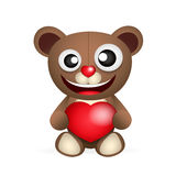 Cute brown teddy bear Royalty Free Stock Photo