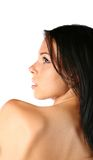 Cute brunette Royalty Free Stock Photo
