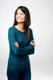 Cute brunette Stock Images