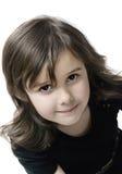 Cute Brunette Girl Stock Images