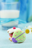 Cute Bug Shaped Cookies Stock Photos