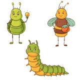 Cute bugs Royalty Free Stock Photo