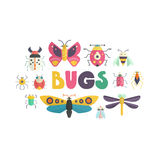 Cute Bugs Stock Photos