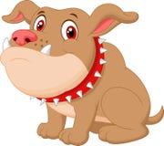 Cute bulldog cartoon Royalty Free Stock Photo