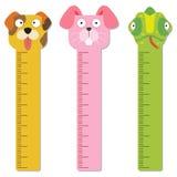 Cute bumper children meter wall. Stock Images